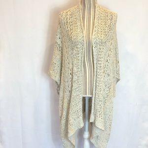 Abercrombie & Fitch kimono style open cardigan M/L